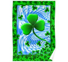 Mad about Shamrock Poster