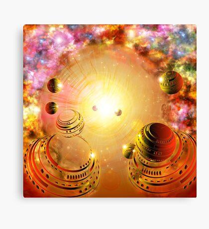 Celestial Voyage Canvas Print