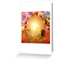 Celestial Voyage Greeting Card