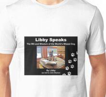 Libby Speaks Book Cover Unisex T-Shirt
