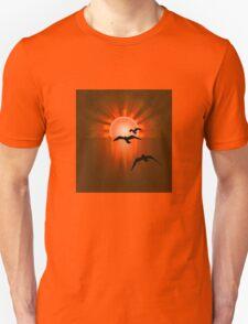 Towards the Light Unisex T-Shirt