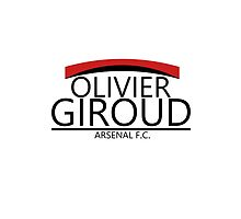 Olivier Giroud - Arsenal F.C. by BlueCubeClothes