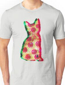 Super Pizza Cat Unisex T-Shirt