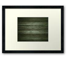 Grungy Green Framed Print