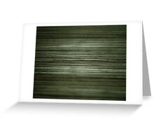 Grungy Green Greeting Card