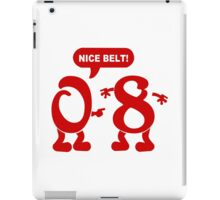 Zero to Eight Funny Geek Nerd iPad Case/Skin