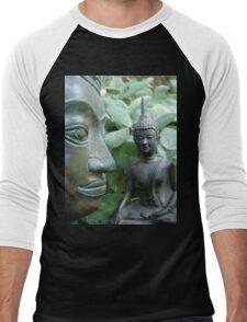 Budda in Nature Men's Baseball ¾ T-Shirt