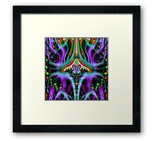 'Vimana Flux Lines' Framed Print