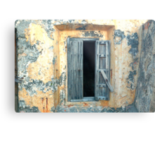 Window, Fort Moro, Old San Juan, Puerto Rico Metal Print