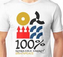 100 renewable energy greenpeace Funny geek Nerd Unisex T-Shirt