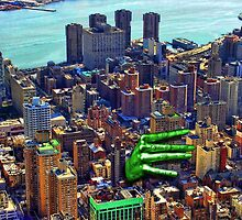 Holding New York by GolemAura