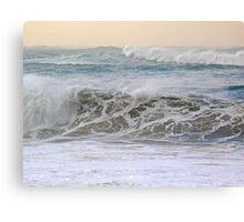 ocean speech... Canvas Print