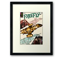 Firefly Vintage Comics Cover (Serenity) Framed Print
