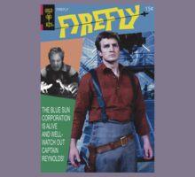 Firefly Vintage Comics Cover Kids Tee