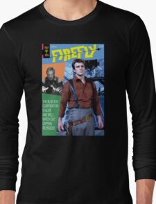 Firefly Vintage Comics Cover Long Sleeve T-Shirt