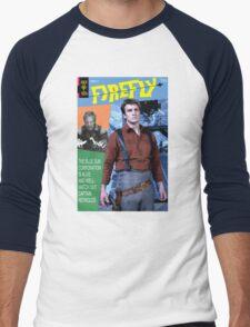 Firefly Vintage Comics Cover Men's Baseball ¾ T-Shirt