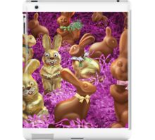 Chocolate Easter Bunnies iPad Case/Skin