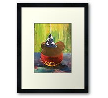 Sorcerer Mickey Gourmet Apple Framed Print