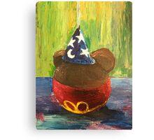 Sorcerer Mickey Gourmet Apple Canvas Print