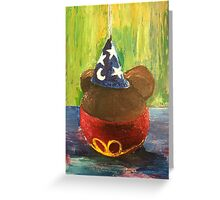 Sorcerer Mickey Gourmet Apple Greeting Card