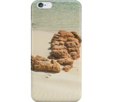 Red Rocks on the Shore iPhone Case/Skin