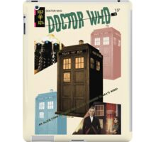 Doctor Who Vintage Comics Cover iPad Case/Skin