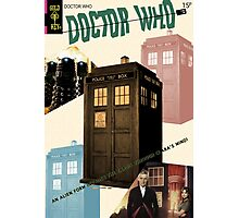 Doctor Who Vintage Comics Cover Photographic Print