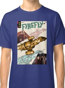 Firefly Vintage Comics Cover (Serenity) Classic T-Shirt