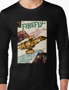 Firefly Vintage Comics Cover (Serenity) Long Sleeve T-Shirt