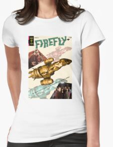 Firefly Vintage Comics Cover (Serenity) Womens Fitted T-Shirt