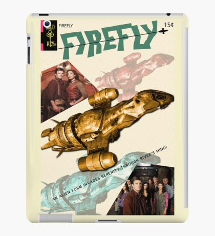 Firefly Vintage Comics Cover (Serenity) iPad Case/Skin