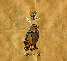 Ravenclaw: Clever and Wise by WulfFather