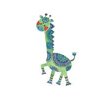 The Green Giraffe by haidishabrina