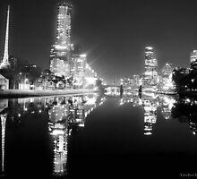Yarra River, Melbourne by David  Lim