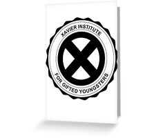 X-Men Xavier Institute Greeting Card