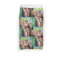 Doctor Who Vintage Comics Cover Duvet Cover