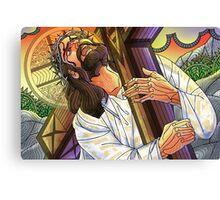 Jesus Bearing the Cross Canvas Print