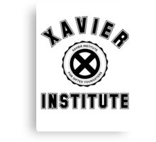 Xavier Institute X-Men Logo Canvas Print