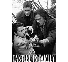 Castiel is family Photographic Print