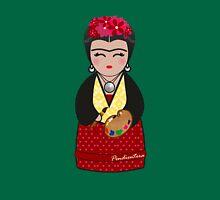 Kokeshi Frida  Womens Fitted T-Shirt