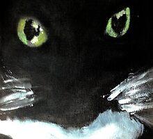 Tuxedo Kitty by SoonieUchiha