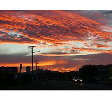 Sunset Delight Photographic Print