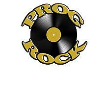 Prog Rock Record Photographic Print