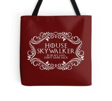 House Skywalker (white text) Tote Bag