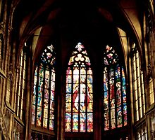 Stained Glass Windows by SHappe