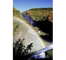 Letchworth Rainbow Photographic Print