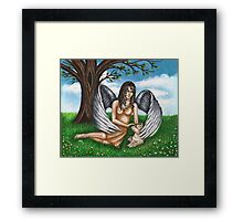 Guardian of the Furry Ones Framed Print
