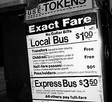 Bus Fare by Jeff Fall