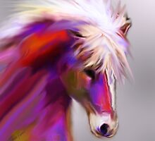 Horse of color by JackieFlaten