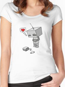 The Lonliest Automaton Women's Fitted Scoop T-Shirt
